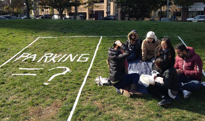 Columbia students' site intervention