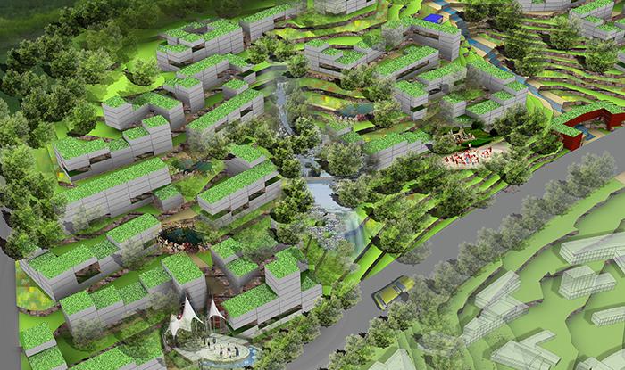 4 Green Neighborhood - Green ecological community